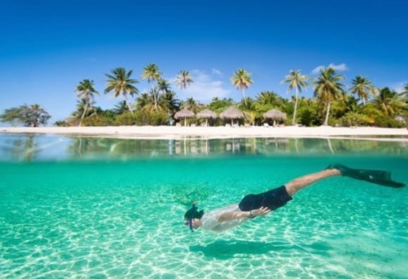 Phu Quoc travel- Long Beach is an ideal spot for sunbathing, and swimming. By: @wind6688