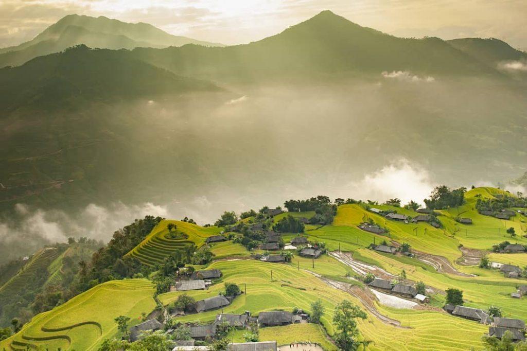 Du lịch Hà Giang-Vẻ đẹp núi rừng Hà Giang . Ảnh: @thang_at