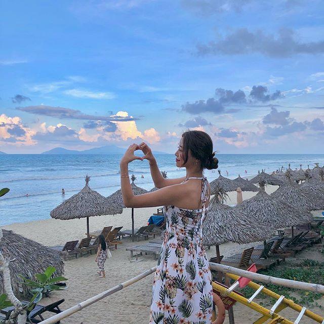 Biển An Bàng mang không khí thanh mát cùng với biển trời - Ảnh @bbb._.e_