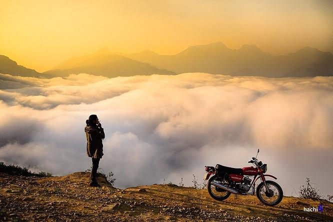 Y Ty- Sapa travel- Cảm giác một mình thu phục cả đất trời. Ảnh: @thanhtrungtnn