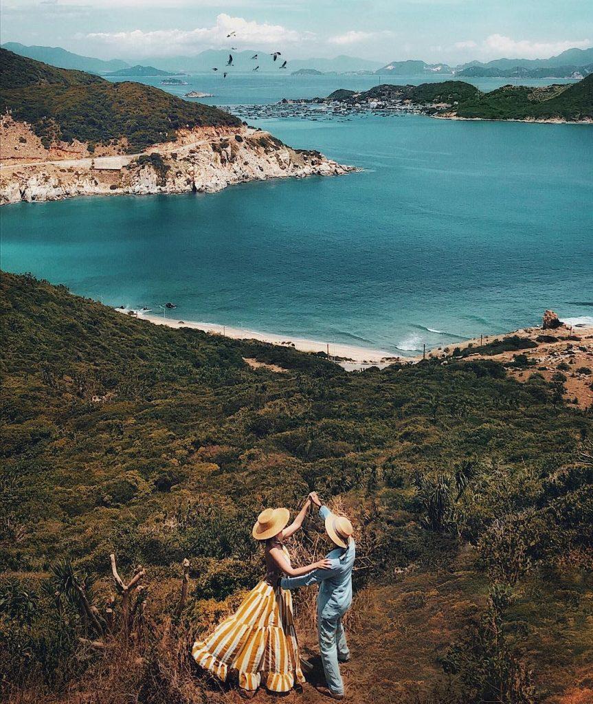 Du lịch miền Trung- Cảnh đẹp miền Trung- điểm đến miền Trung-Vịnh Vĩnh Hy - Phan Rang - Ninh Thuận. Ảnh: @lehatruc