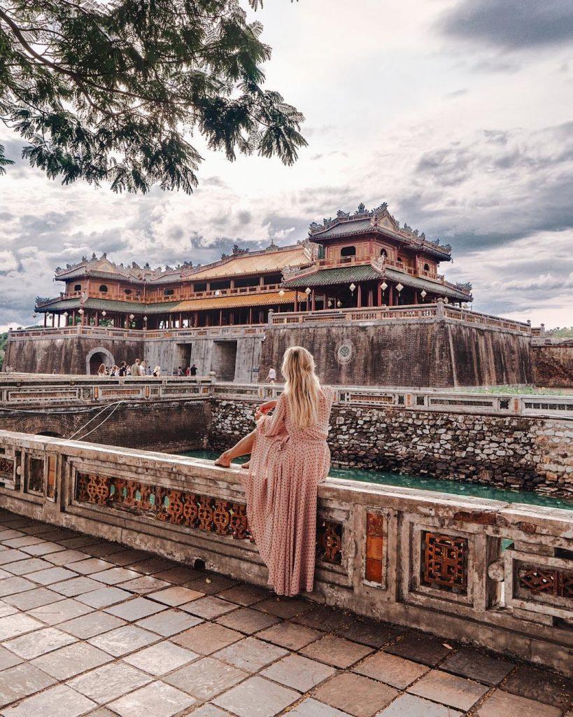 Du lịch miền Trung- Cảnh đẹp miền Trung- điểm đến miền Trung-Kinh thành Huế thơ mộng. Ảnh: @linda