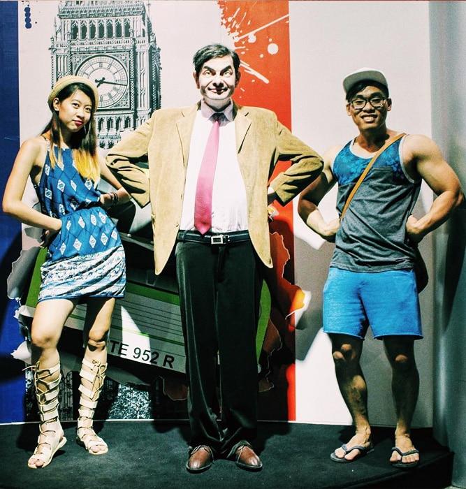 Du lịch Đà Nẵng- điểm du lịch Bà Nà Hills-Đây là nơi trưng bày các nhân vật nổi tiếng trên thế giới. Ảnh: sưu tầm