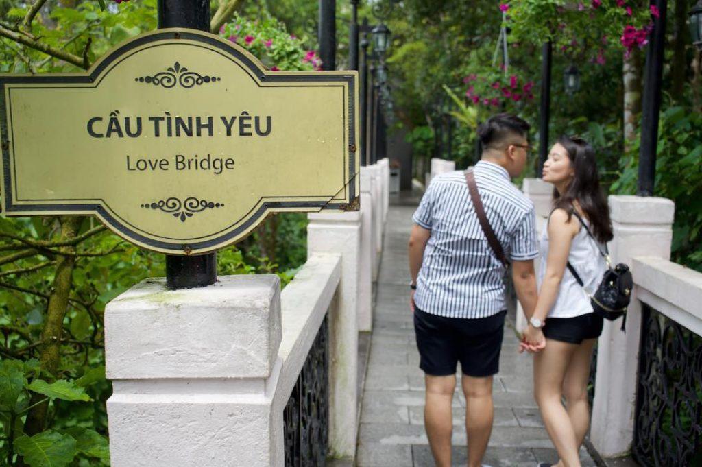 Du lịch Đà Nẵng- điểm du lịch Bà Nà Hills-Lưu giữu kỉ niệm ngọt ngào cho các cặp đôi. Ảnh: tuanlinh08