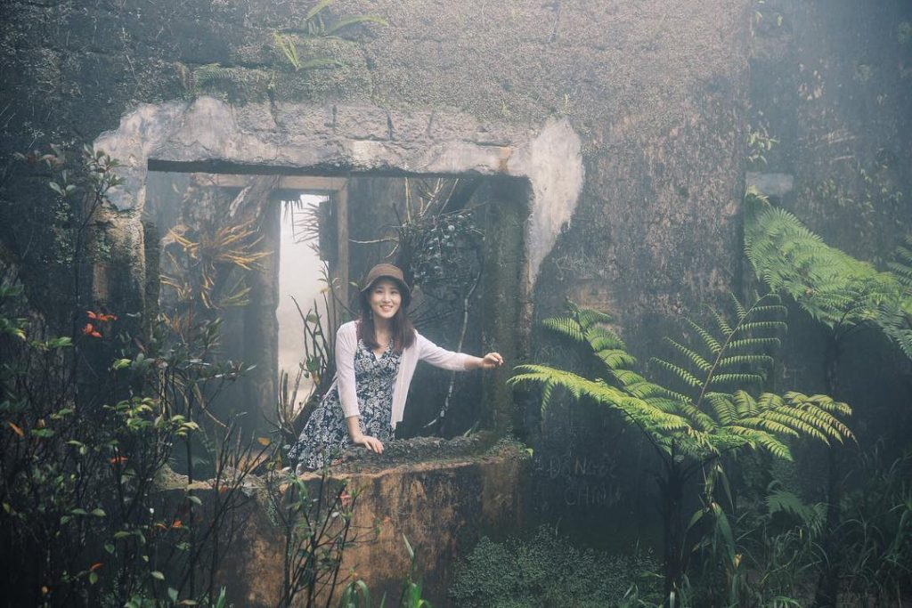 Du lịch Đà Nẵng- điểm du lịch Bà Nà Hills-Bên trong ngôi nhà cổ. Ảnh: jj_aangss