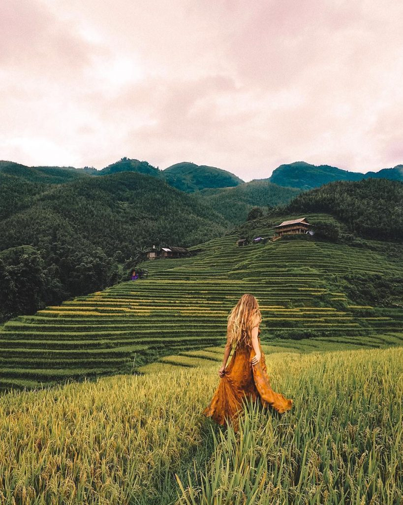 Du lịch vùng cao- Du lịch Tây Bắc- Cảnh đẹp Tây Bắc-Sapa là địa điểm lý tưởng của khách du lịch trên thế giới. Ảnh: @thinkselina