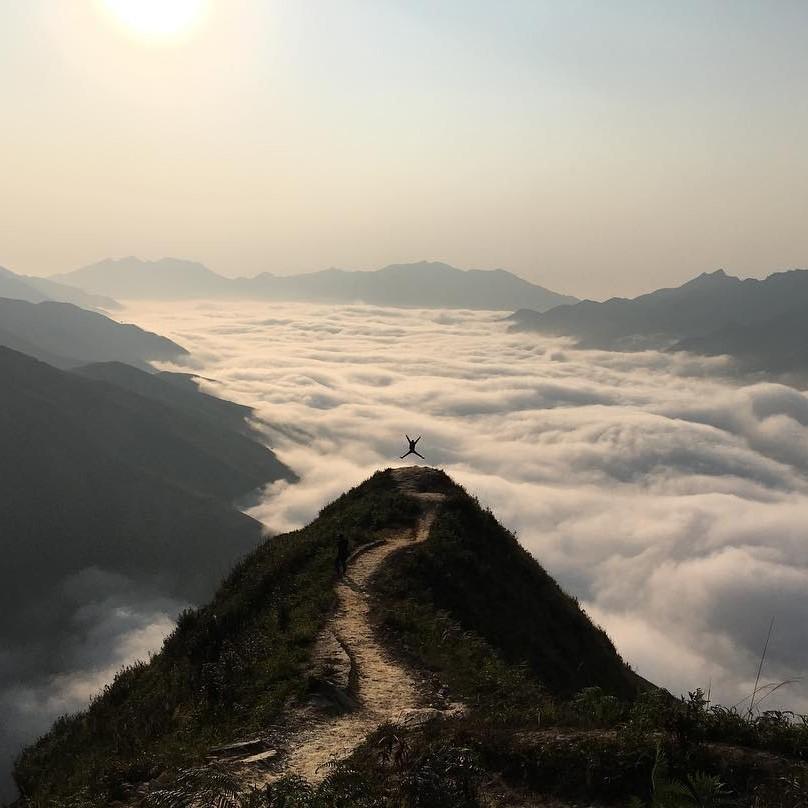 Du lịch vùng cao- Du lịch Tây Bắc- Cảnh đẹp Tây Bắc-Tà Xùa là địa điểm săn mây lý tưởng nhất ở Sơn La. Ảnh: t.nice