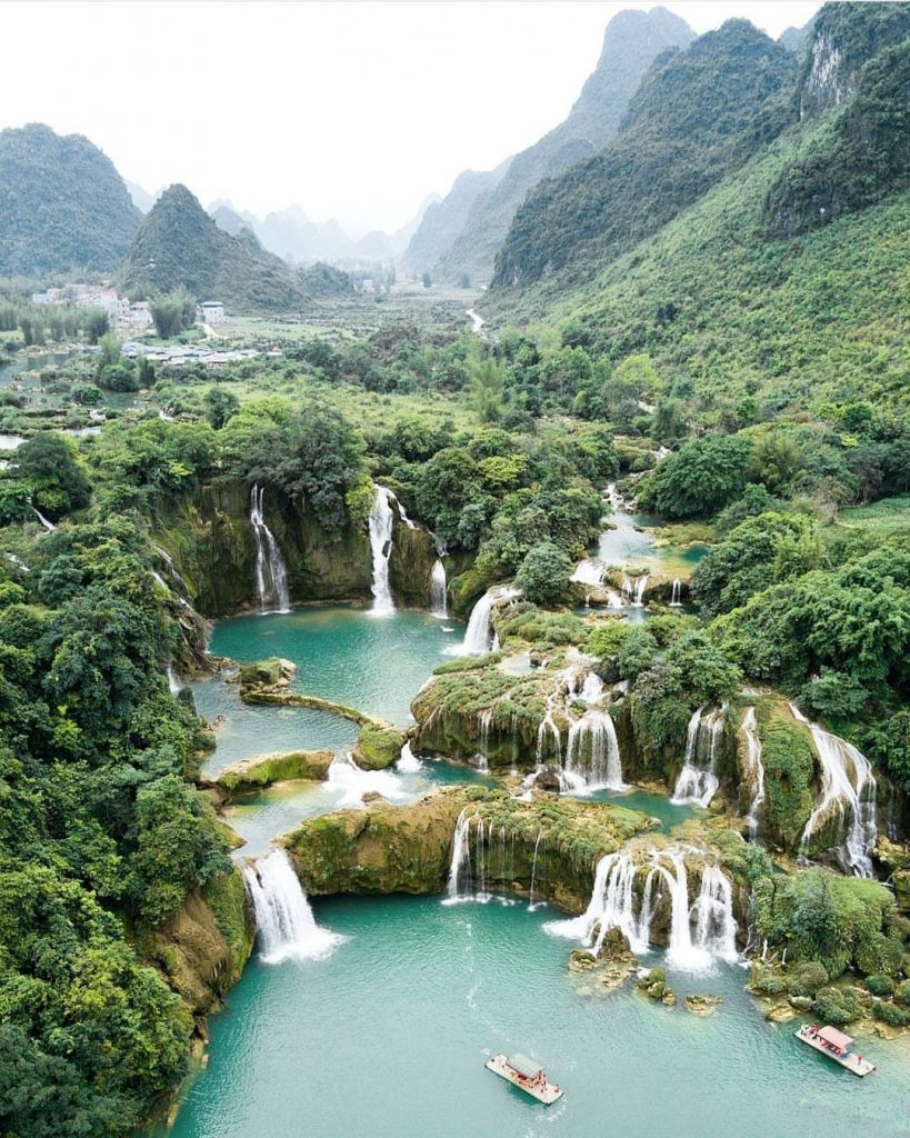 Thác nước ở Việt Nam- Thác nước đẹp ở Việt Nam- Thác Bản Giốc