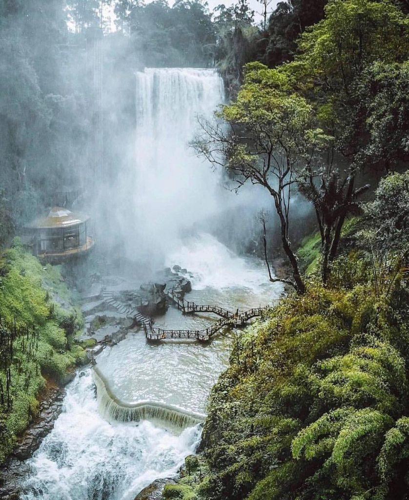 Thác nước ở Việt Nam- Thác nước đẹp ở Việt Nam- Thác Dambri