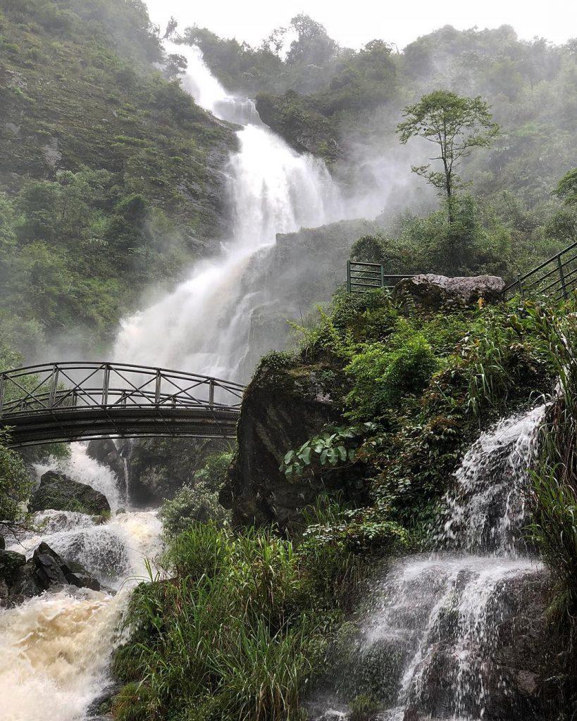 Thác nước ở Việt Nam- Thác nước đẹp ở Việt Nam- Thác Bạc, Lào Cai