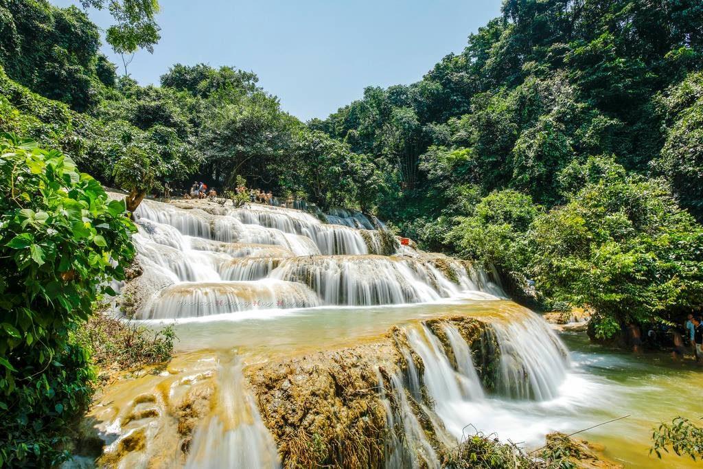 Thác nước ở Việt Nam- Thác nước đẹp ở Việt Nam- Thác Mây, Thanh Hóa