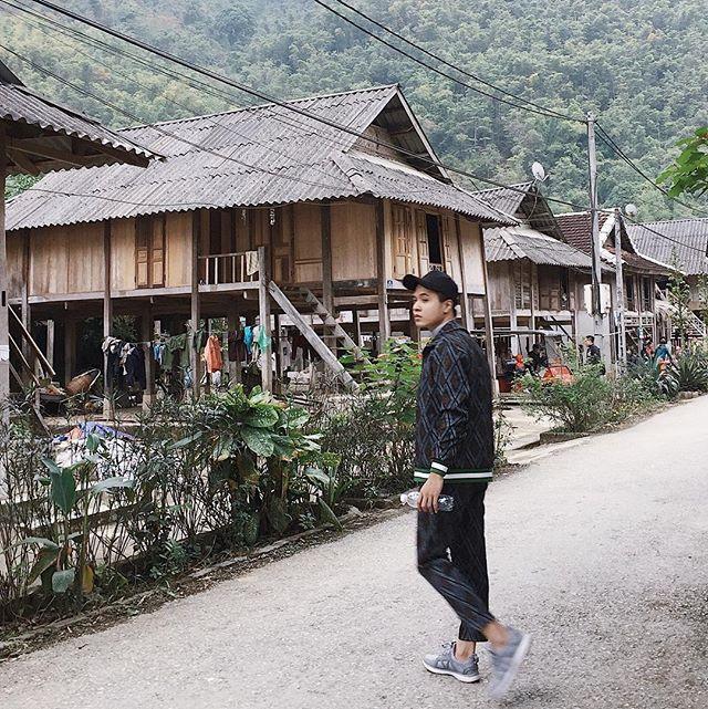 Du lịch Mai Châu - Cảnh đẹp Mai Châu - Những ngôi nhà sàn ở Bản Nhót. Ảnh: @ryker.ng