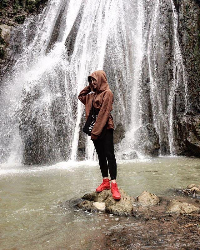 Du lịch Mai Châu - Cảnh đẹp Mai Châu - Làm một vài tấm ảnh cực chất bên thác Gò Lào. Ảnh: @silver.mony