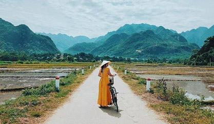 """Mai Châu – """"Thiên đường"""" tuyệt đẹp giữa bầu trời Tây Bắc"""