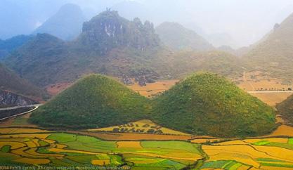 Rong ruổi các cung đường khám phá vẻ đẹp Hà Giang