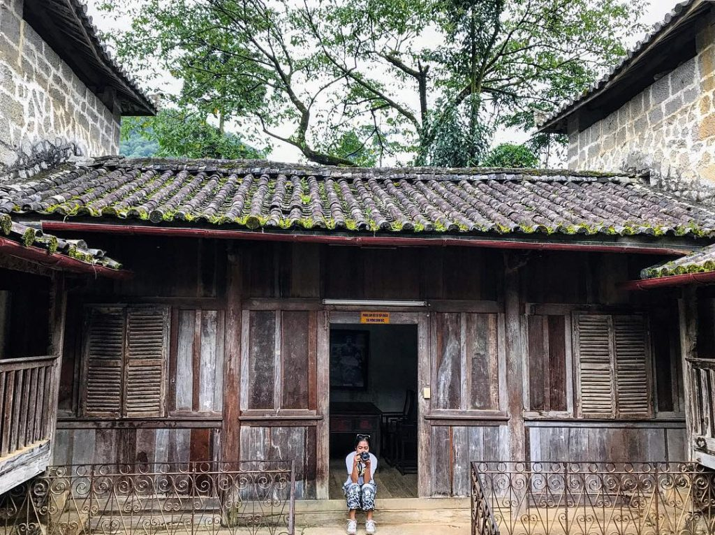Hagiang-the century-old palace is still the largest construction in the area and boasts special architecture style
