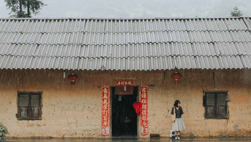 Ha Giang travel- the most beautiful sights in Ha Giang-Pho Bang which was called '' forgotten ancient town''