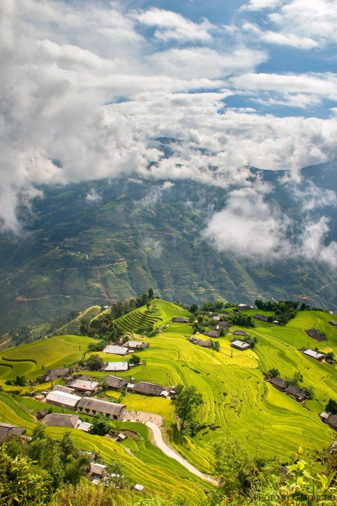 Ha Giang - the most beautiful sights in Ha Giang-Hoang Su Phi is consider as the place which has the most beautiful terraced fields in Ha Giang. By: Phạm Hoàng Cương