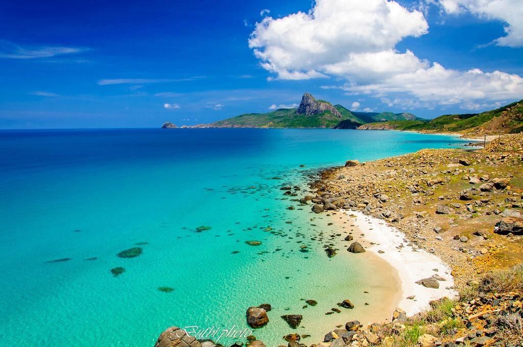 Southern Vietnam- Southern Vietnam travel- beautiful places in southern Vietnam-Bai Nhat beach, Con Dao island, Vietnam . By: Butbi45