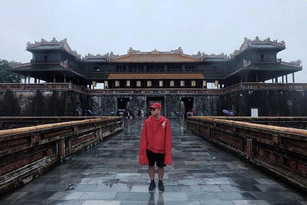 Ngọ Môn là cổng chính phía Nam của Hoàng Thành. Ảnh: @hanhattien
