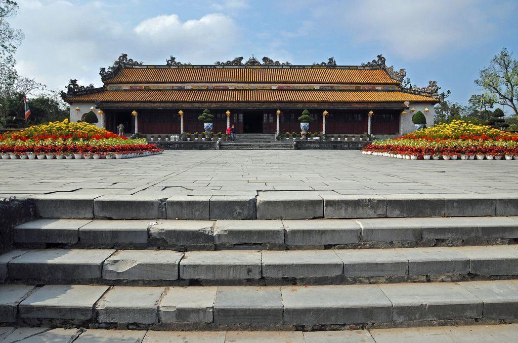 Diện Thái Hòa nơi tổ chức sự kiện lớn. Ảnh: Sotaydulich
