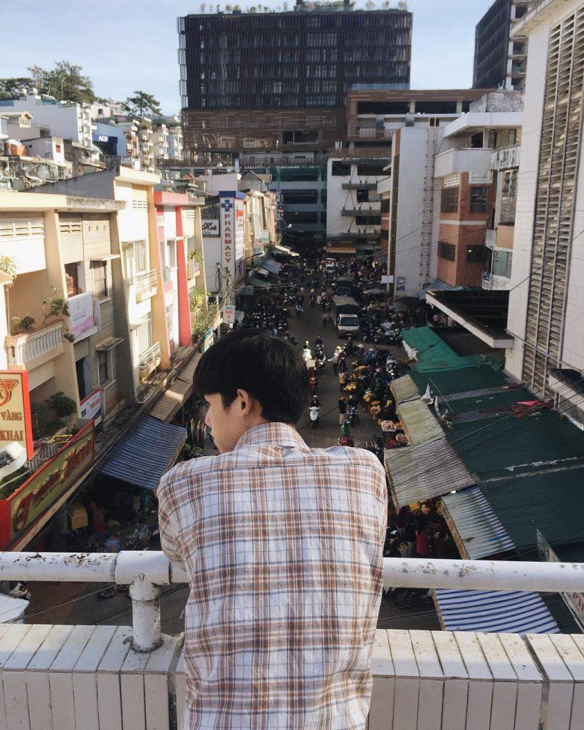 Dalat Travel Guide from A to Z- Dalat travel- beautiful sights in Da lat- Dalat market from above. Photo: @duyzuy_