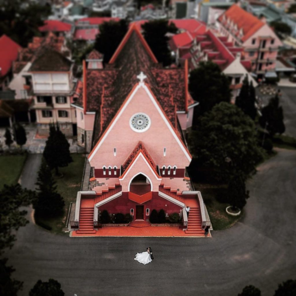 The church was built in the European style of the 17th century. Photo: @liemtranphotography Da Lat Travel Guide