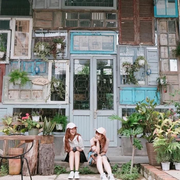 Là Nhà Homestay. Location: 77 Hoàng Diệu street, Ward 5, Dalat city. Photo: Collection.