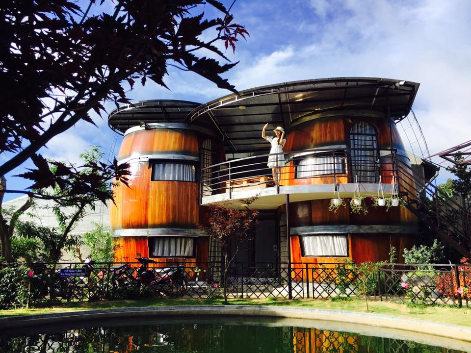 Wine Valley Homestay. Location: 61, An Bình street, Ward 3,D alat city. Photo: Collection.