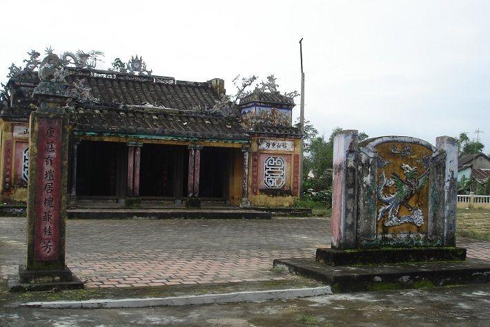 Đình cổ Túy Loan -di tích lịch sử, văn hóa đã được xếp hạng quốc gia. Ảnh: sưu tầm