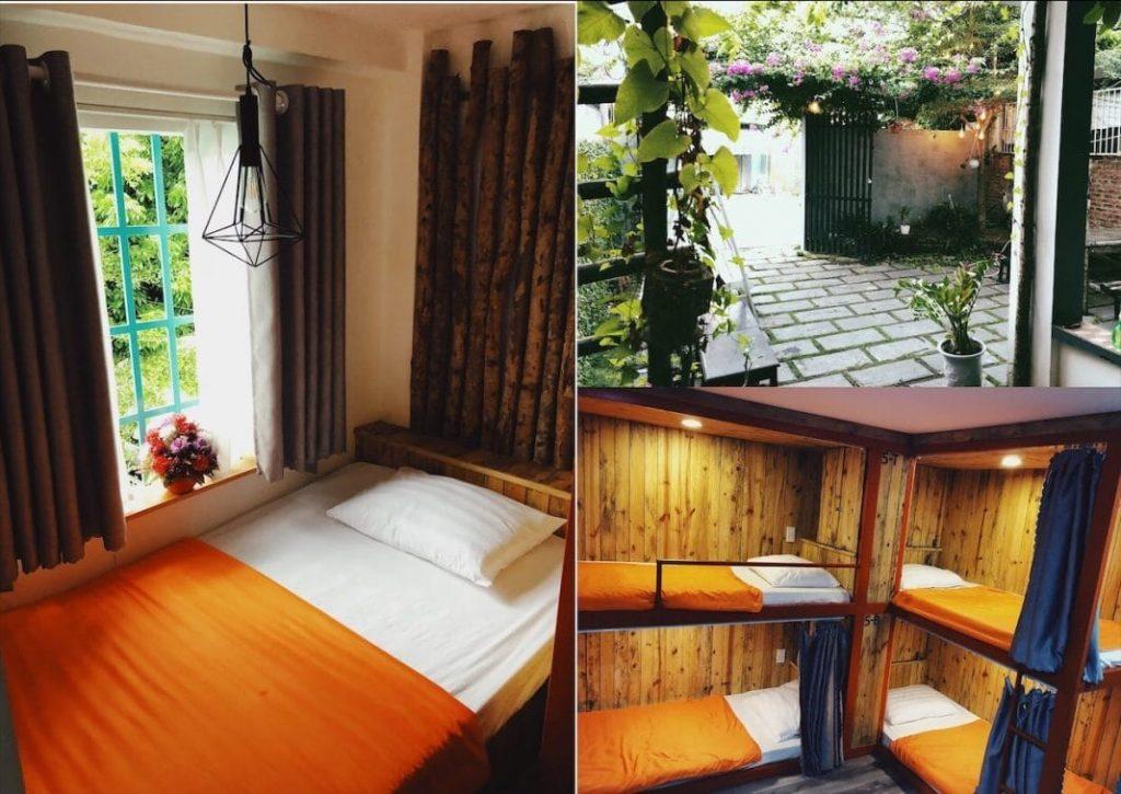 D – Green Hostel. Ảnh: chuyenkhachsan.com