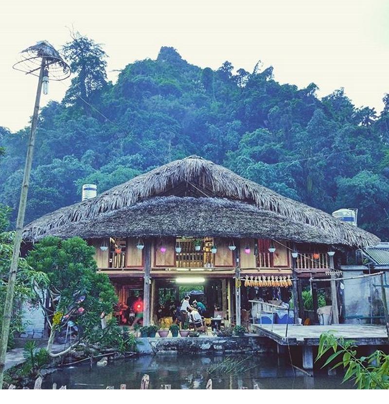 Thon Tha Tay Stilt House- Kinh nghiệm du lịch Hà Giang. Ảnh: Sưu tầm