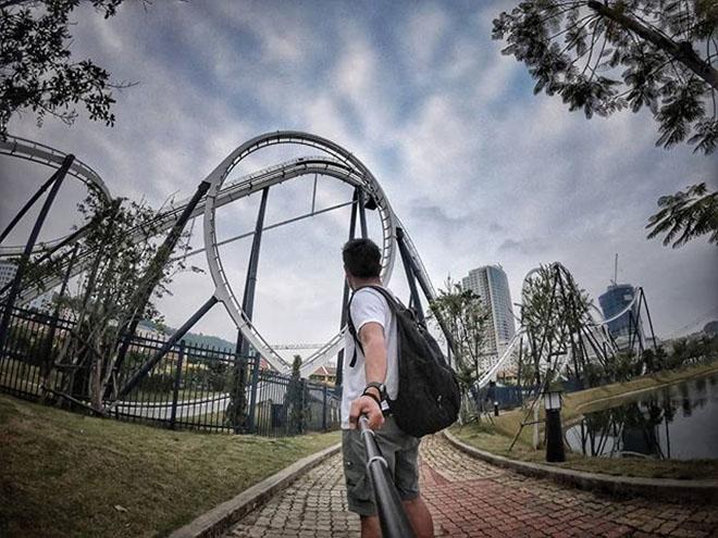 Dragon Park địa điểm lý tưởng cho bạn khám phá các trò chơi mạo hiểm. Ảnh: @newbie.traveller