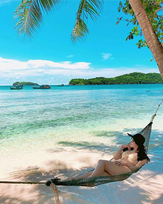 Hòn Móng Tay là địa điểm lý tưởng cho những người thích trải nghiệm mạo hiểm và khám phá thiên nhiên. Ảnh: @_huehippp_