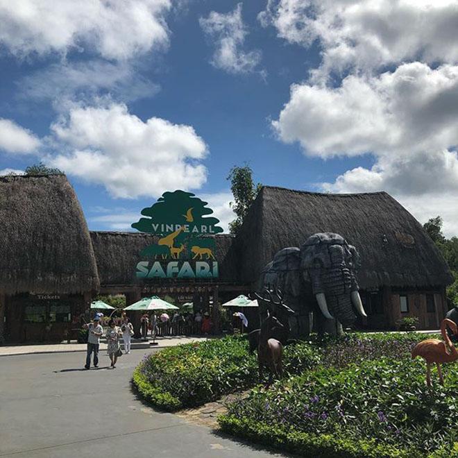 Vinpearl Safari là mô hình vườn thú mở lớn nhất Việt Nam. Ảnh: @9zz9z9