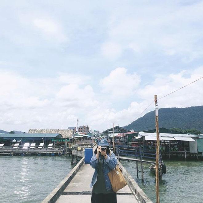 Làng Chài Hàm Ninh là một trong những ngôi làng lâu đời nhất trên đảo Phú Quốc. Ảnh: @t.beo