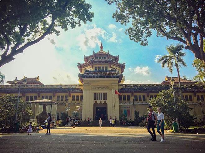 Bảo Tàng lịch sử Việt Nam. Ảnh: @annguyenkhac