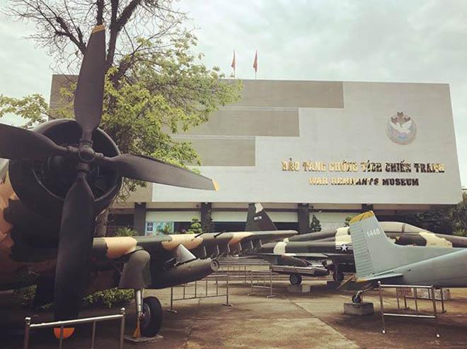 Bảo Tàng chứng tích chiến tranh nơi tái hiện giai đoạn kháng chiến ác liệt của dân tộc Việt Nam. Ảnh: @justforhanoi
