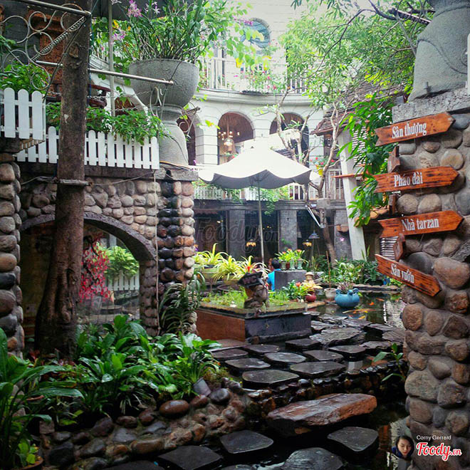 Oasis Cafe. Ảnh: foody.vn