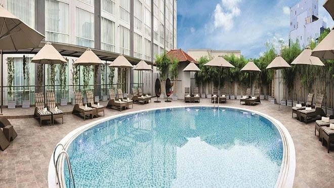 Khách sạn Eastin Grand Sài Gòn. Ảnh: sưu tầm