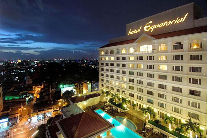 Khách sạn Equatorial Hồ Chí Minh. Ảnh: sưu tầm