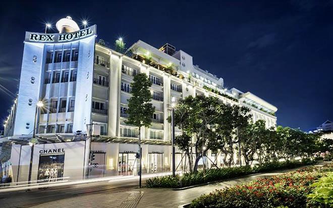 Khách sạn Rex Sài Gòn. Ảnh: sưu tầm