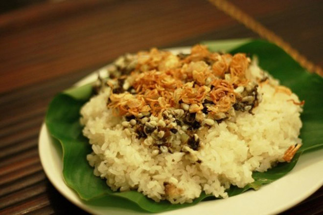 This is a specialty of Ninh Binh that you can only eat on February (Lunar Calendar). Photo: Collection