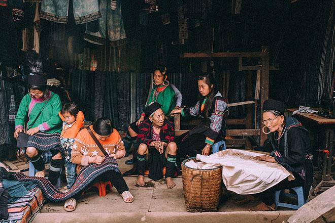 Life of Ethnic minorities in Northern Vietnam. Photo: Collection