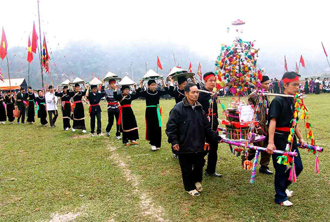 "The ""Go Down The Rice Field"" Festival In Sapa – Lao Cai. Photo: collection."