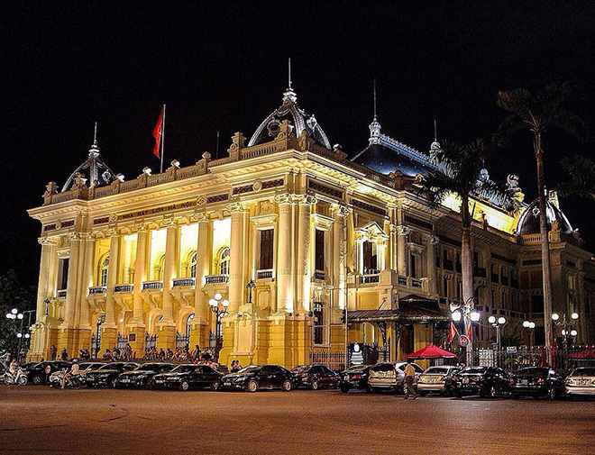 The Opera House was the place where many important events of the country were held. Photo: @hanoicapital