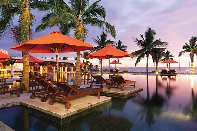 Khu nghỉ dưỡng Cam Ranh Riviera Beach Resort & Spa. Ảnh: sưu tầm