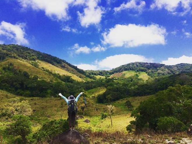 Vườn quốc gia Núi Chúa nơi thích hợp cho những ai đam mê khám phá thiên nhiên. Ảnh: dulichvietnam360