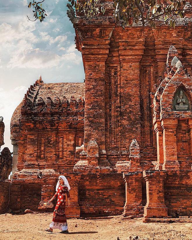 Po Klong Garai là một minh chứng cho sự tồn tại của đất nước Chăm Pa trước kia. Ảnh: @lehatruc