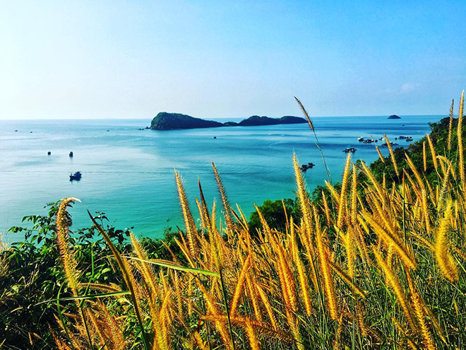 Because of the wildness, exploring Ngu beach is very worthy. Photo: @ Ruan.ming.jin